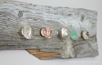 DIY Barn Wood Jewelry Holder