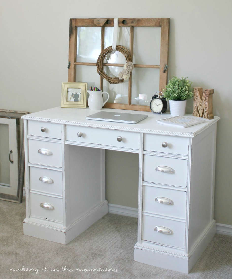 Every piece has a story to tell and here's one you're not going to want to miss the story behind this Vintage Desk Makeover.