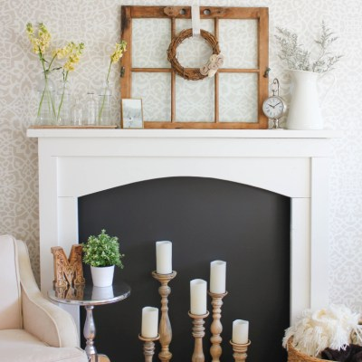 How to Decorate a Fireplace in 4 Easy Steps