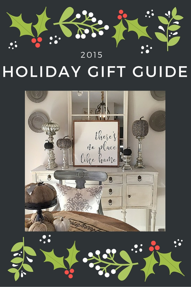 "Tons of gift ideas for ""her"" with this inspiring Holiday Gift Guide for 2015!"