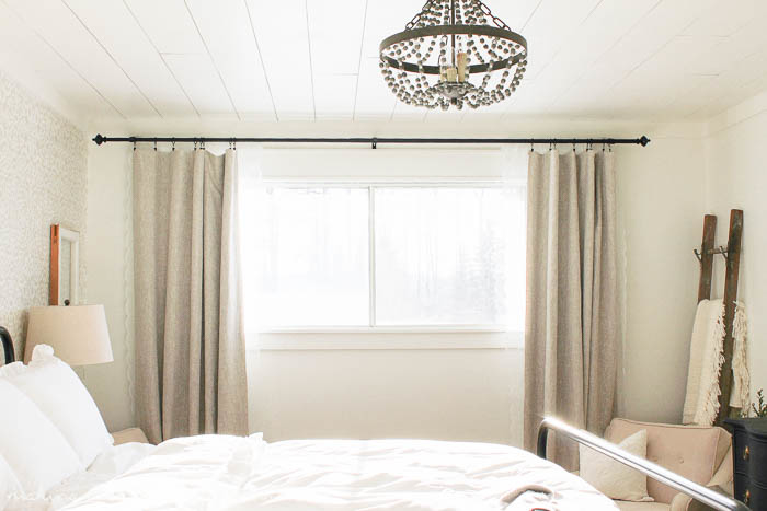 DIY Custom Lined Curtains