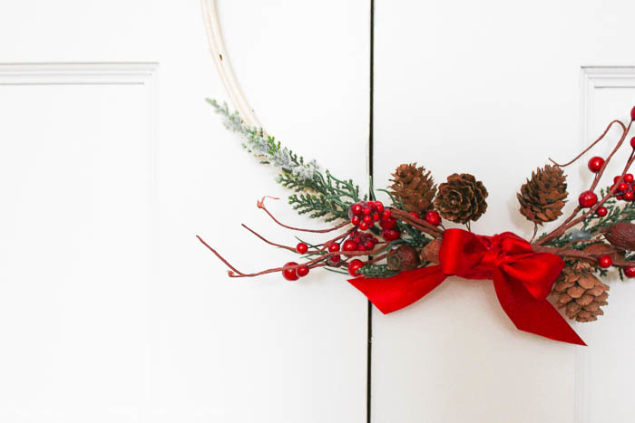 5 Minute Christmas Wreath