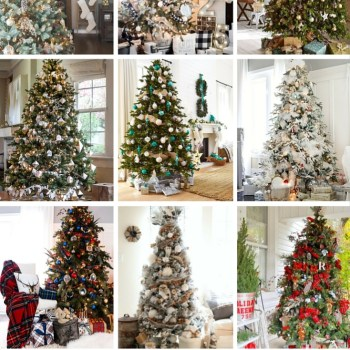 What's Christmas without a tree? These 12 Gorgeous Christmas Trees are sure to leave you feeling inspired to make your own better than ever this year!
