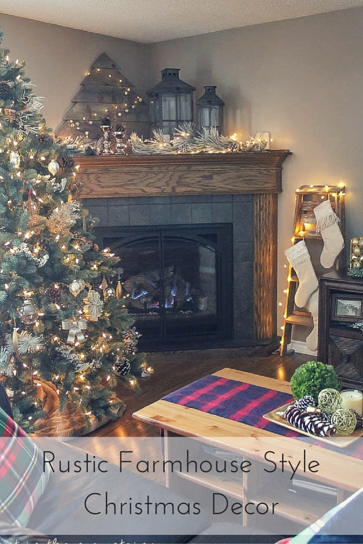 A Rustic Farmhouse Christmas Home Tour Making It In The Mountains