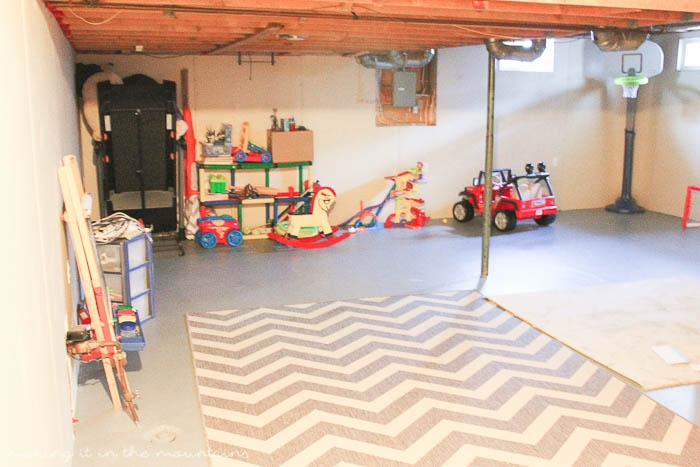 Because sometimes you can't just get rid of <em>everything</em>, I'm sharing our process for decluttering and organizing basement storage using the KonMari Method, so you'll have the tools to take on your own storage.