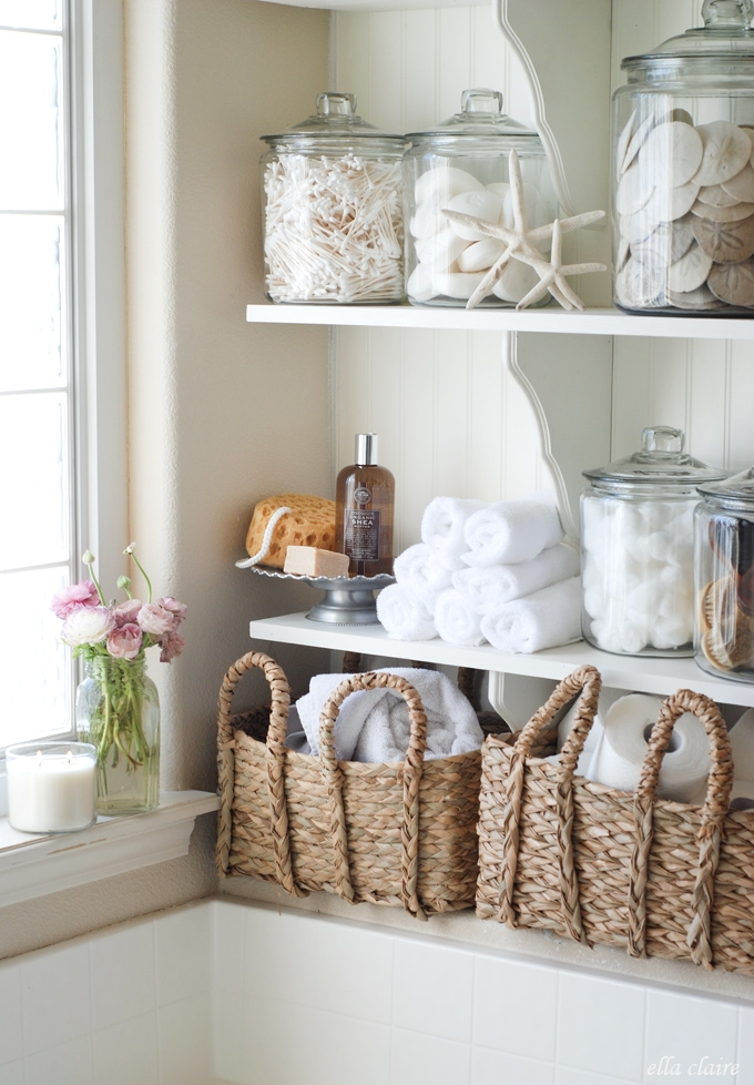 Laundry Room Linen Closet