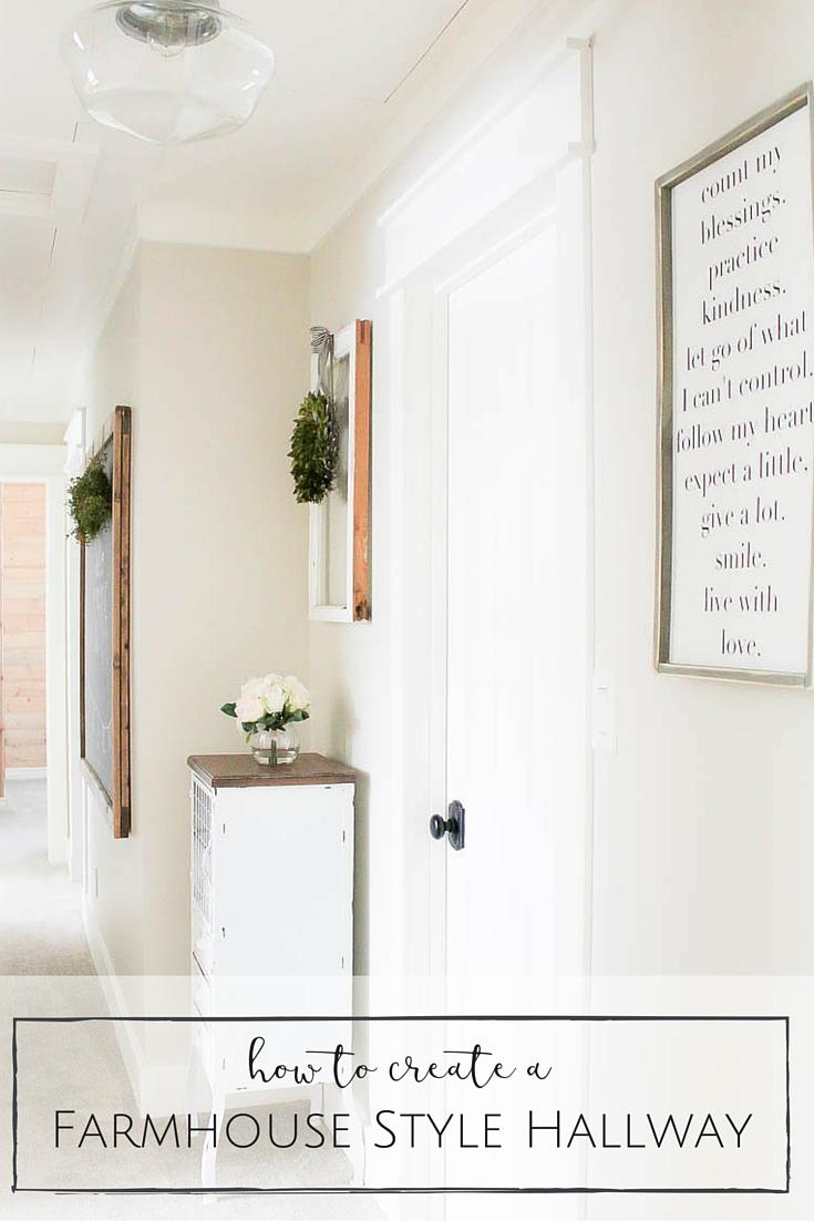 Farmhouse Style Hallway-33