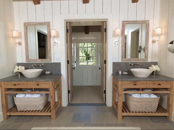 Merveilleux Farmhouse Style Bathroom