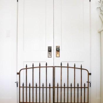 DIY Rusted Antique Gate | www.makingitinthemountains.com