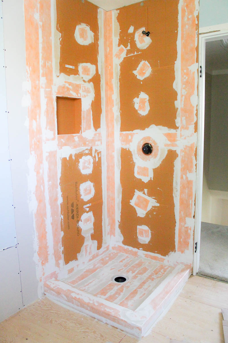 Farmhouse Style Bathroom in the making