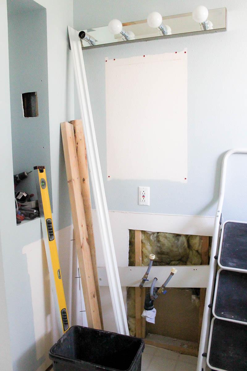One Room Challenge Bathroom Week Two