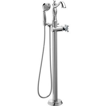 Delta Traditional Floor Mount Tub Filler
