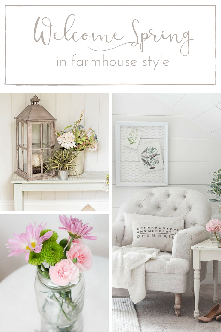 These farmhouse Spring decor ideas are as charming as they are beautiful!