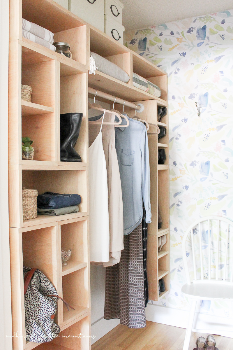 DIY Master Bedroom Closet: The Reveal - Making it in the