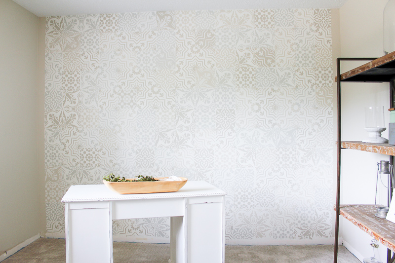 how to get the cement tile look for less