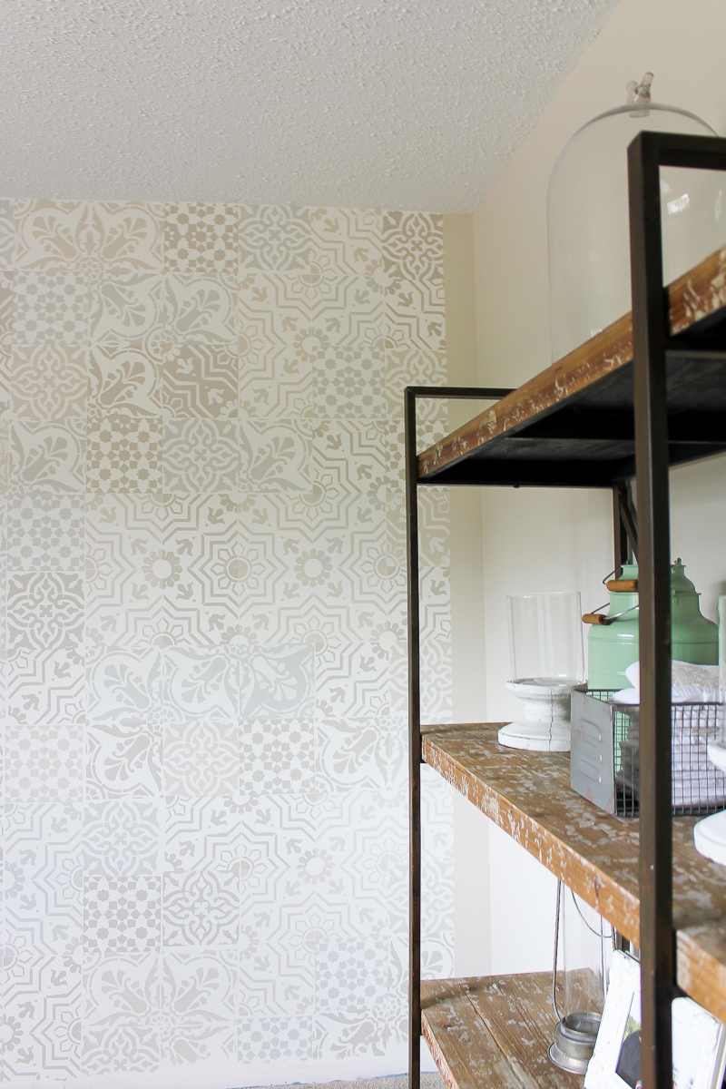 How to Get the Cement Tile Look for Less | www.makingitinthemountains.com