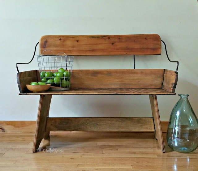 Carriage Bench Makeover