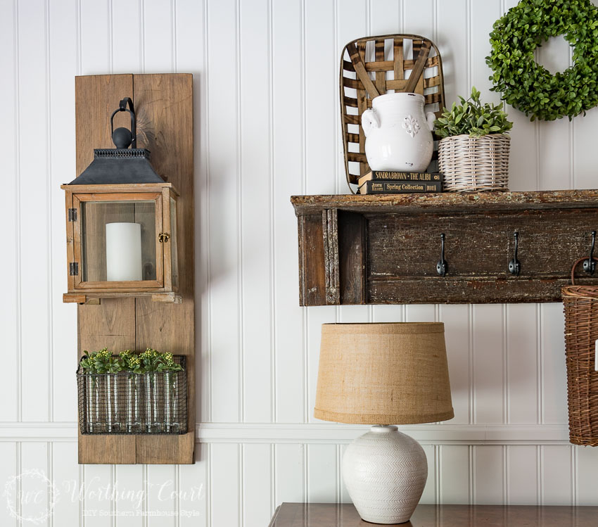 Farmhouse Style DIY Hanging Lanterns