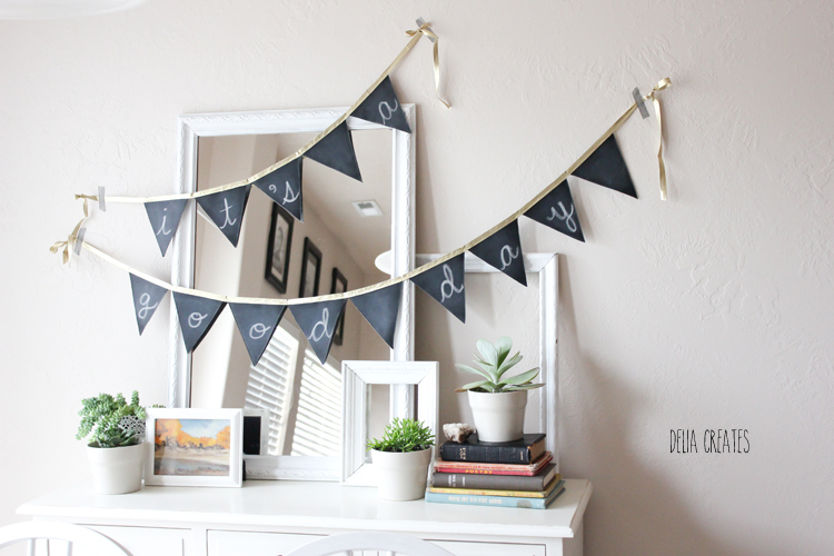 Any Occasion Chalkboard Banner