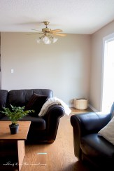 One Room Challenge - Family Room - Before