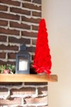 Felt Flower Christmas Tree | www.makingitinthemountains.com