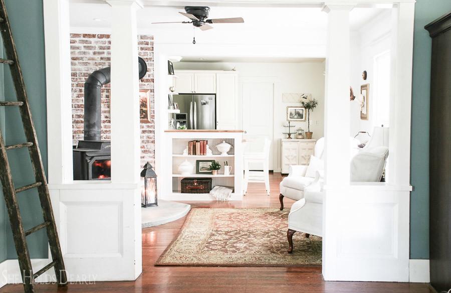 Beautiful Fireside Room Reveal