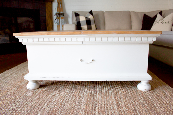 ... Coffee Table Makeover Today! Bring Some Charm And Character To Your  Living Room Space With This Light And Bright Farmhouse