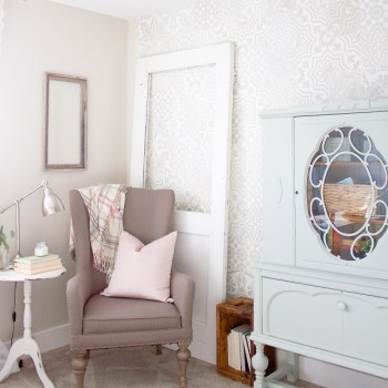 Inspiring ideas to create a beautiful, cozy & relaxing reading space.