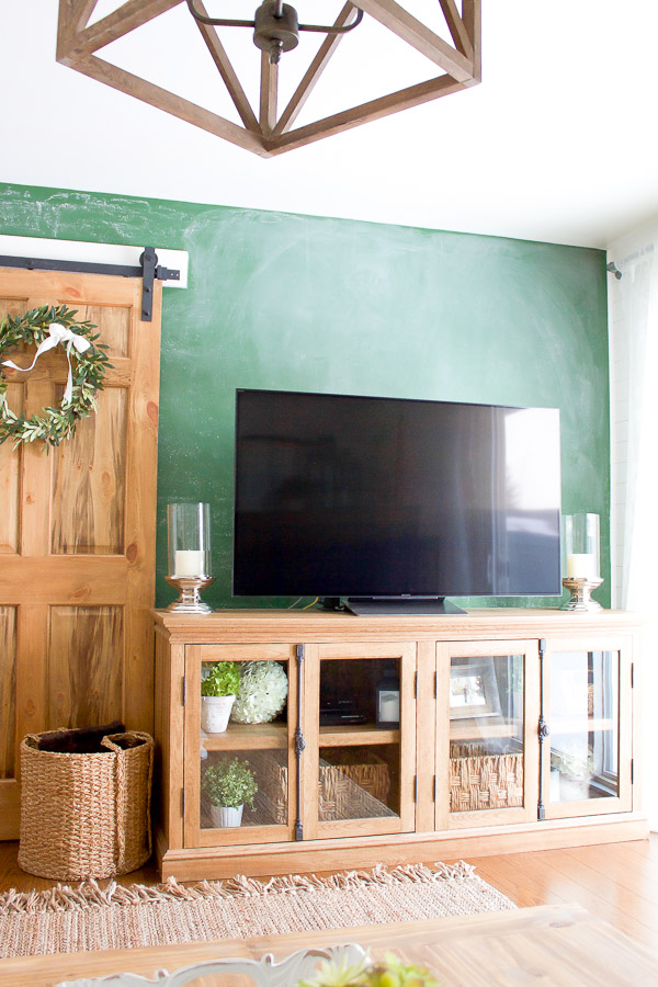 Farmhouse Home How To Style A Tv Stand Making It In The