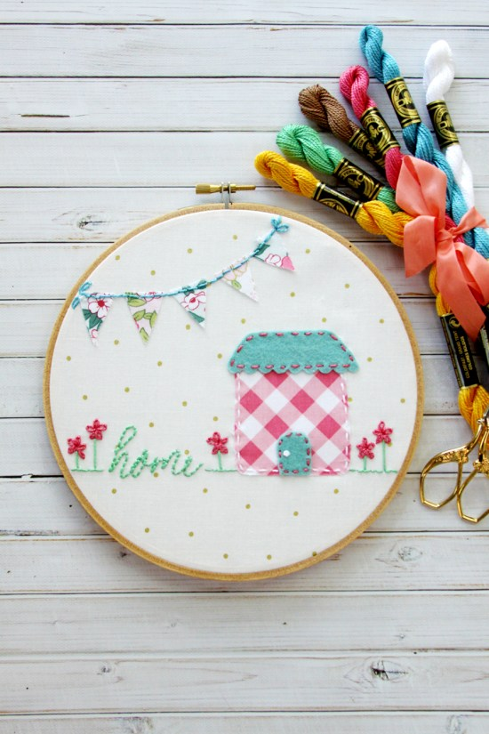 Easy Home Embroidery Art
