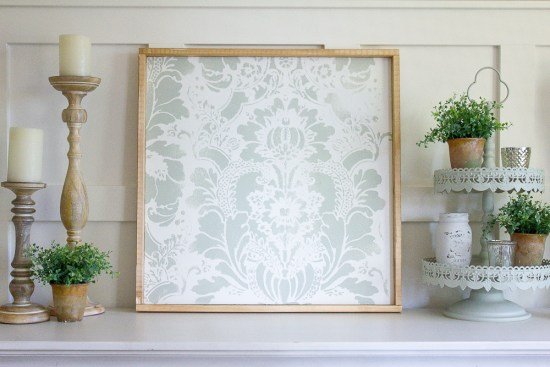 Whether you're looking for some inexpensive art to fill that empty wall space, or you'd just really like the ability to customize the size and colours of your artwork, look no further my friends ... this DIY stencil art was SO simple & inexpensive to make and you'll love being able to create exactly what you're looking for!