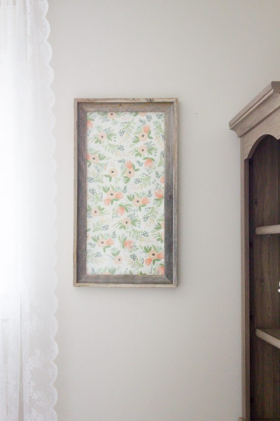 See how I turned an old picture frame into a DIY dry erase board that's both functional and pretty!   www.makingitinthemountains.com
