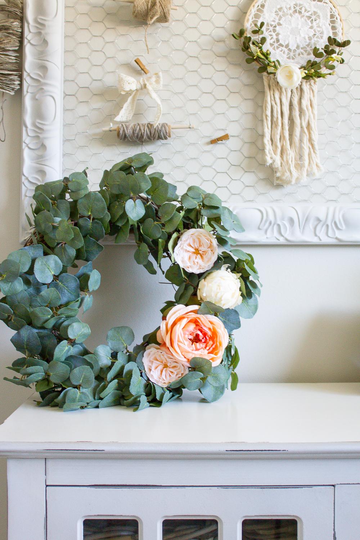 Farmhouse Home How To Make Your Own Diy Eucalyptus Wreath