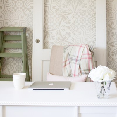 Because No Space is Ever Truly Complete: A Farmhouse Style Office Update