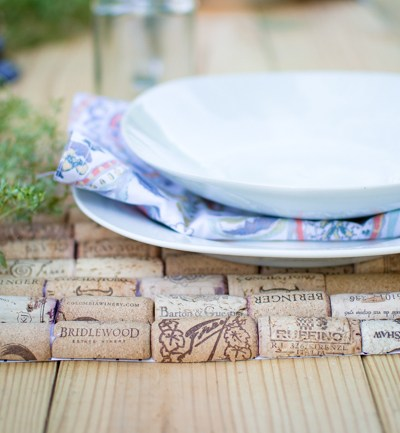 DIY Wine Cork Charger