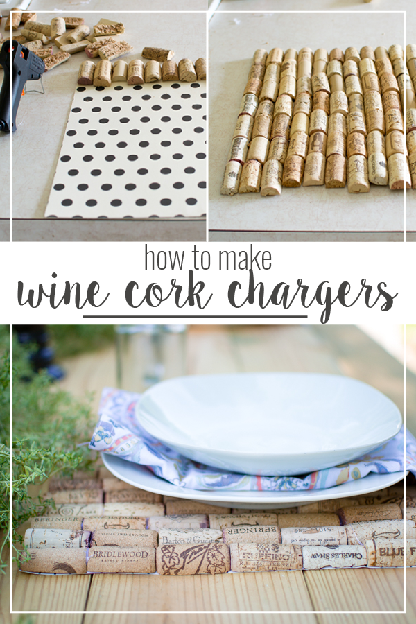 wine cork chargers