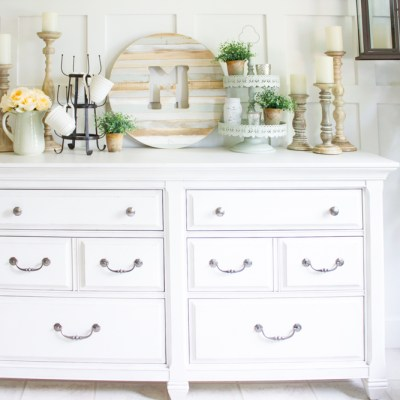 Farmhouse Home: How to Style a Farmhouse Buffet
