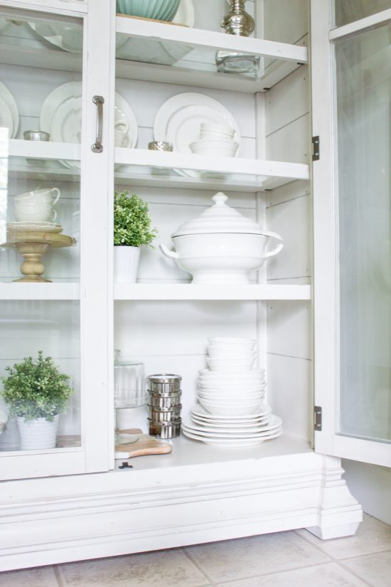 Farmhouse Home How To Style A Farmhouse China Cabinet