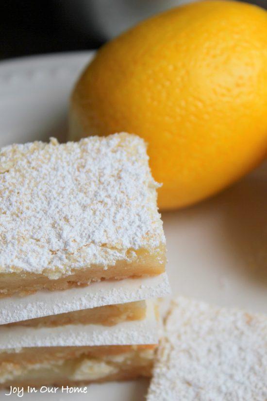 Lemon Shortbread Bars