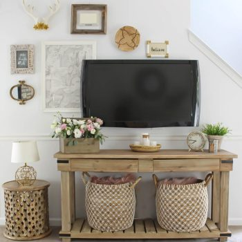 Small Space Living Room Makeover