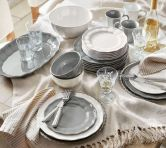 50+ White Dinnerware Sets