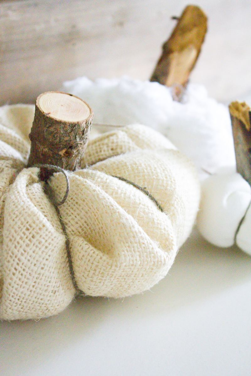 Farmhouse Home: How to Make your own DIY Farmhouse Style Fabric Pumpkins