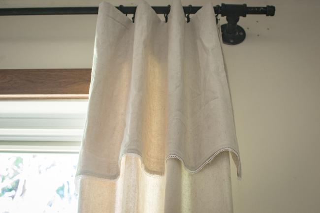 DIY lace dorp cloth curtains