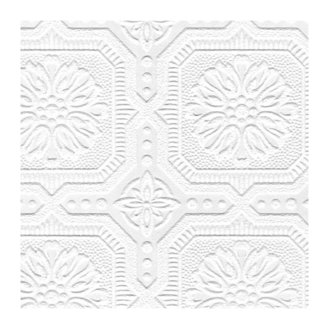 Paintable+33'+x+20.5+Damask+3D+Embossed+Wallpaper+Roll