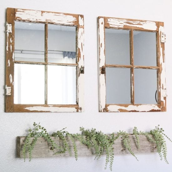 How to Make your own Vintage Window Mirros