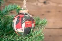 DIY Fabric Scrap Ornament