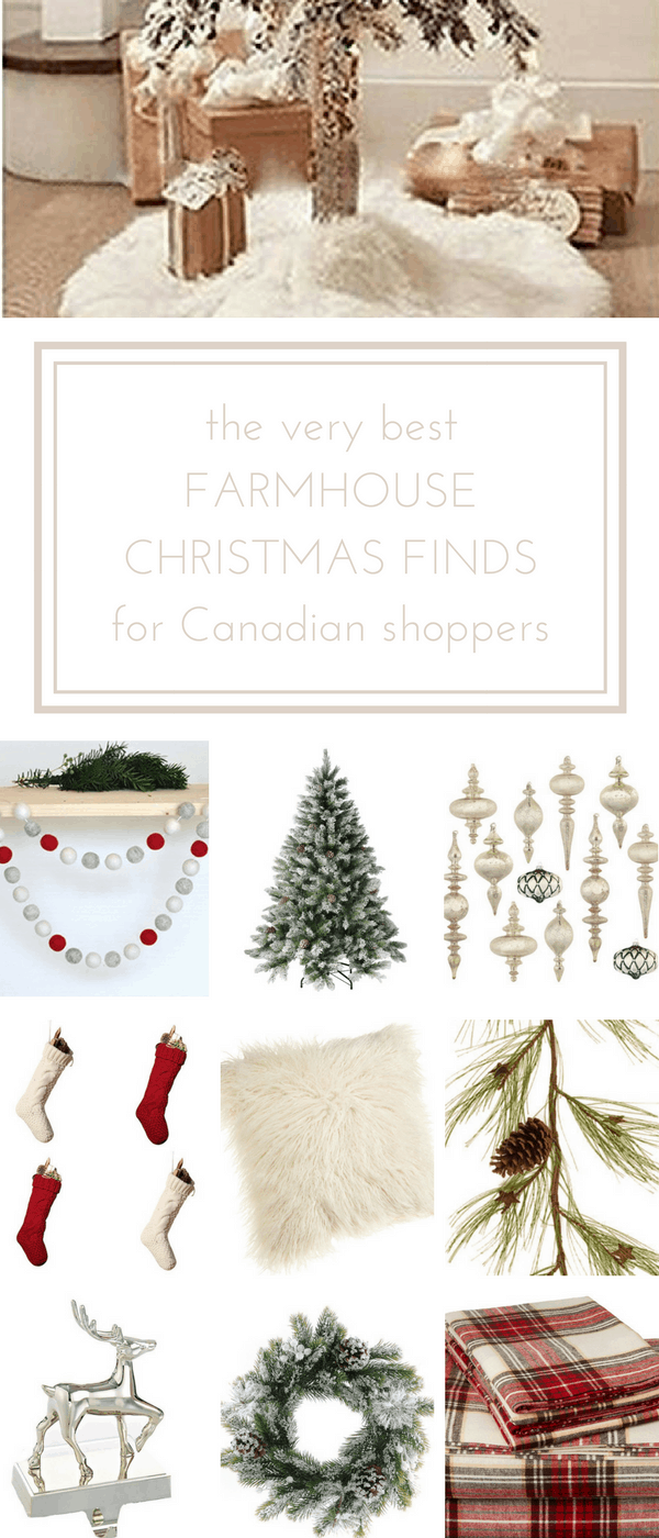 The very best farmhouse Christmas finds for online shoppers in Canada... www.makingitinthemountains.com