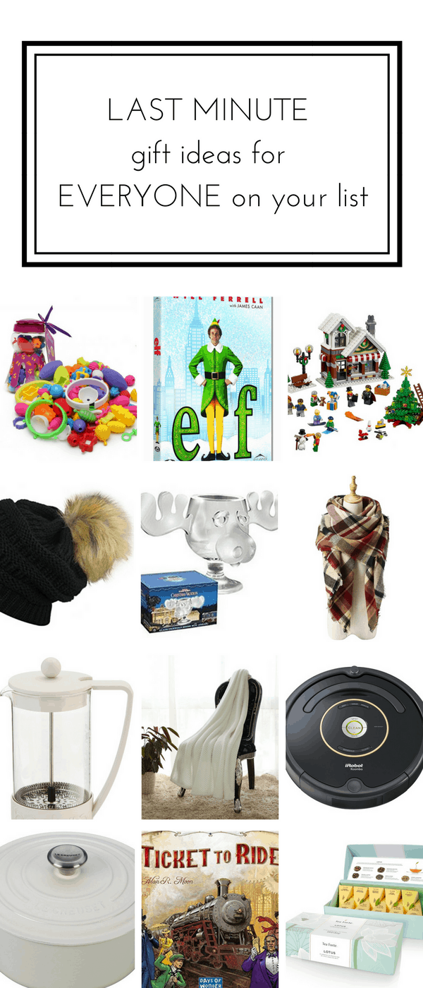 Last Minute Gift Ideas for Everyone on Your List that are Sure to ...