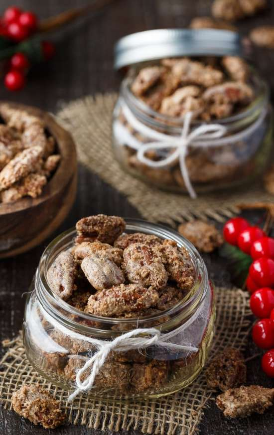 Sweet + Spiced Pecans