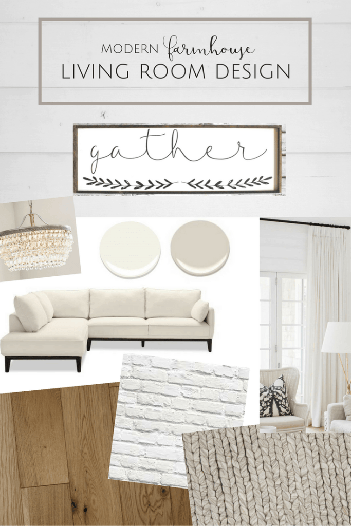 Farmhouse Living Room Design Plans